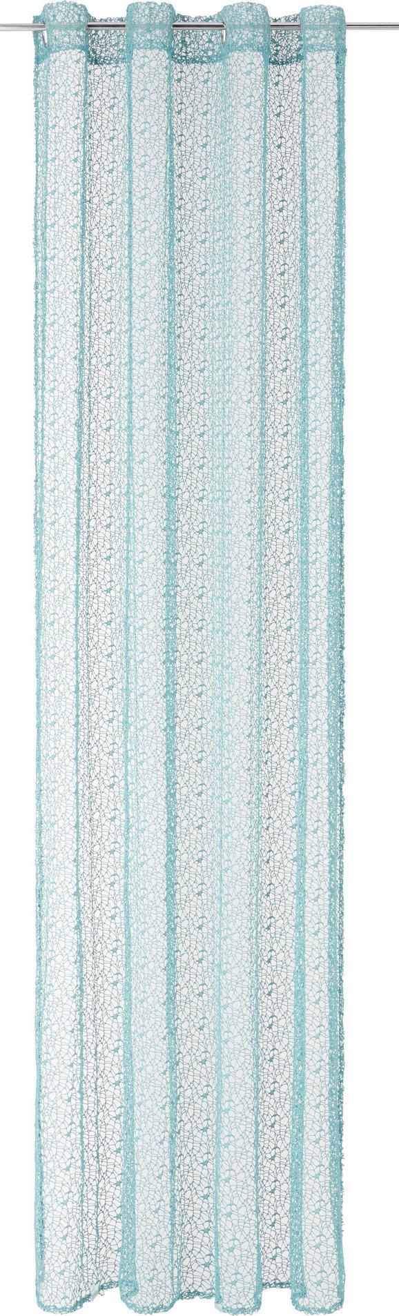 Ösenvorhang Astrid, ca. 140x245cm - Jadegrün, MODERN, Textil (140/245cm) - Mömax modern living