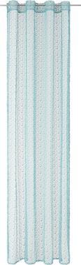 Zavesa Z Obročki Astrid - zeleni žad, Moderno, tekstil (140/245cm) - Mömax modern living