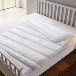 Sommerbettdecke Bella ca.135x200cm - Weiß, KONVENTIONELL, Textil (135/200cm) - Mömax modern living