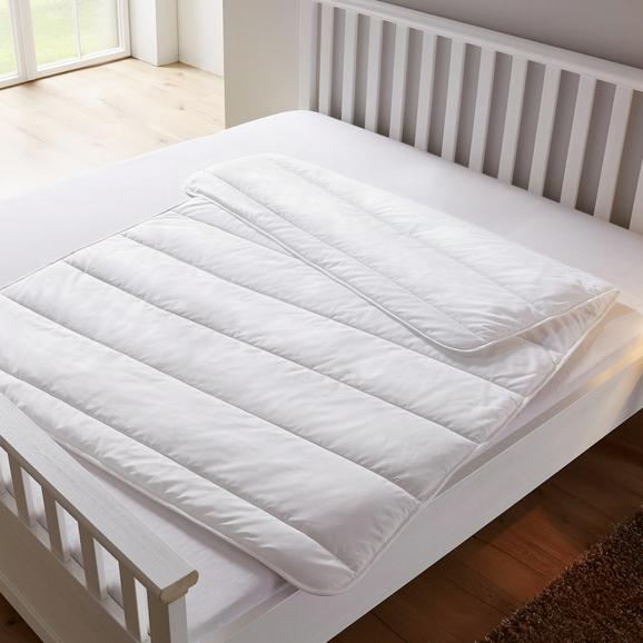 Sommerbettdecke Bella ca. 135x200cm - Weiß, KONVENTIONELL, Textil (135/200cm) - Mömax modern living