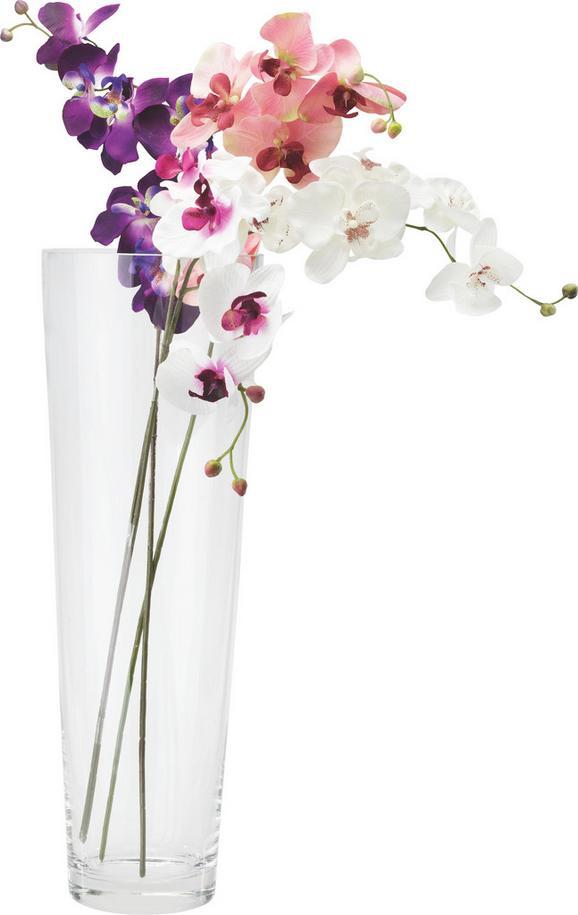 Váza Andrea - tiszta, modern, üveg (17/50cm) - MÖMAX modern living