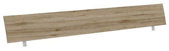 Vzglavje Belia - hrast, Konvencionalno, les (187cm) - Mömax modern living