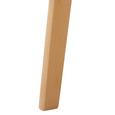 Kindertisch Tibby - Buchefarben/Weiß, MODERN, Holz (60/47cm) - Modern Living