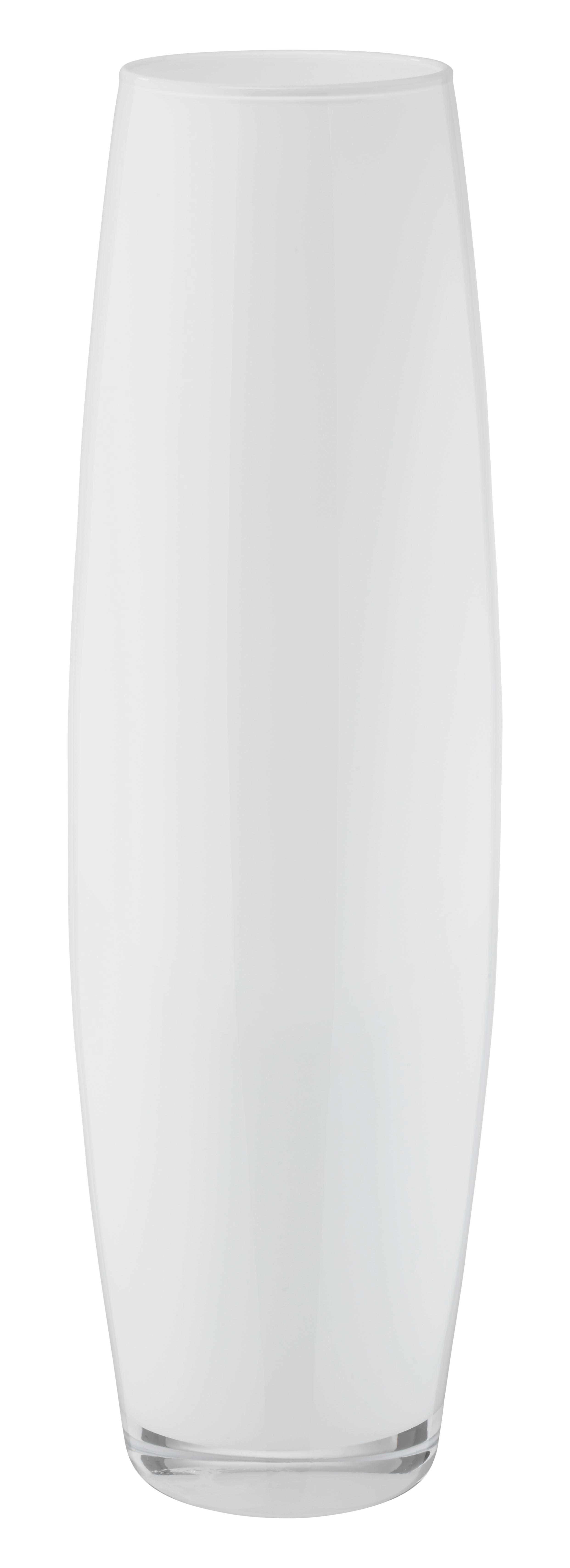 Váza Jenny - fekete/fehér, üveg (70cm) - MÖMAX modern living