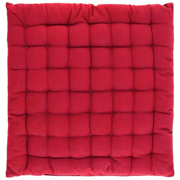 sitzkissen kathrin in rot ca 40x40cm online kaufen m max. Black Bedroom Furniture Sets. Home Design Ideas