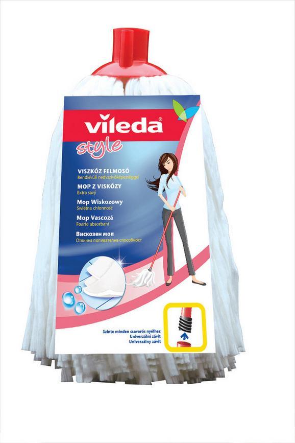 Felmosófej F25305 Vileda - Fehér, konvencionális, Textil