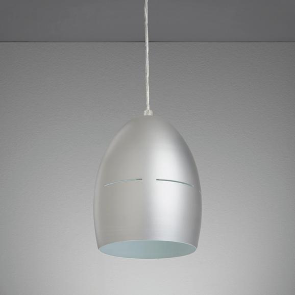 Hängeleuchte Bora - Silberfarben, MODERN, Metall (16,5/16,5/127cm) - MÖMAX modern living