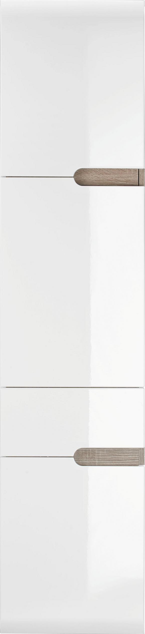 Magasszekrény Linate - modern, Faalapú anyag (40/176/31cm)