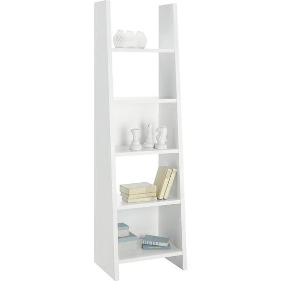 Regal Weiß - Weiß, MODERN, Holzwerkstoff (53,6/186,5/38cm) - Mömax modern living