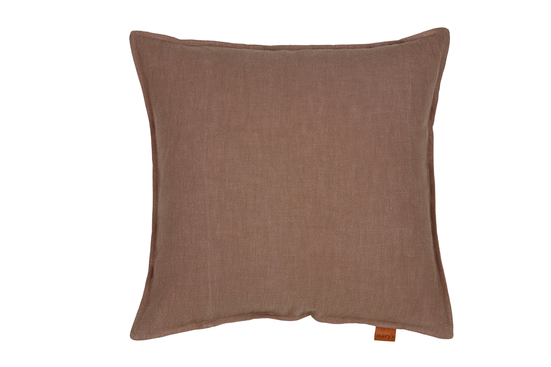 Párnahuzat Jenni Ramie - szürkésbarna, modern, textil (48/48cm) - MÖMAX modern living