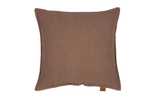 Párnahuzat Jenni Ramie - Taupe, modern, Textil (48/48cm) - Mömax modern living