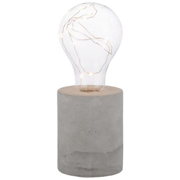 Okrasna Led-svetilka Urban - siva, kamen/kovina (8/21cm) - Mömax modern living