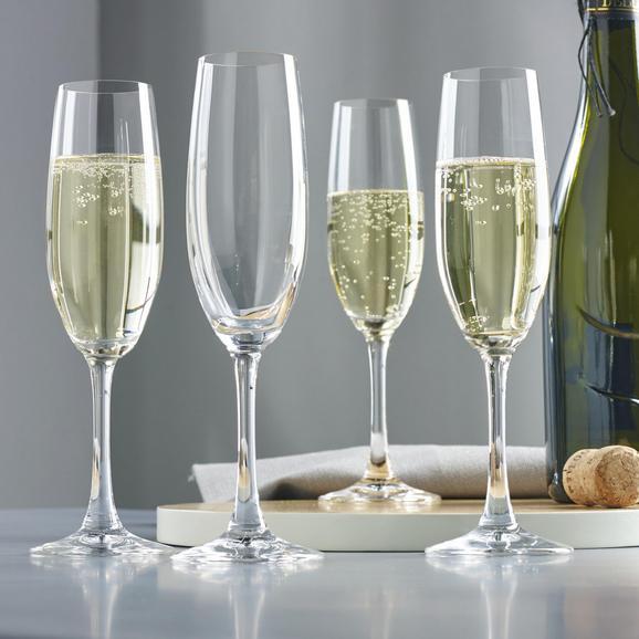 Champagnergläser Spiegelau Winelovers 4-er Set - Klar, MODERN, Glas (21,9cm) - Spiegelau