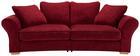 Velika Zofa Norway - naravna/rdeča, Trend, tekstil (275/74/49/135cm) - Premium Living
