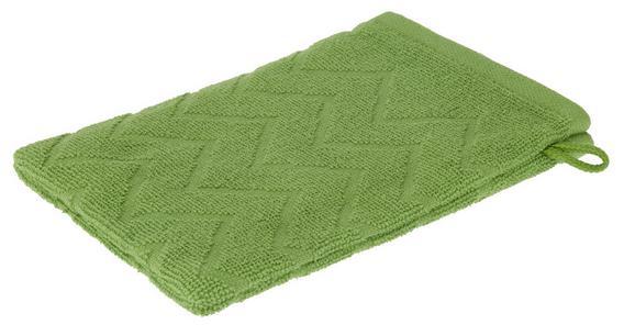 Rokavica Za Umivanje Peter - zelena, tekstil (16/21cm) - Mömax modern living