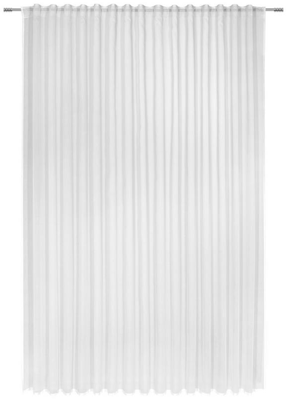 Fertigvorhang Leo Offwhite ca. 300x255cm - Naturfarben, KONVENTIONELL, Textil (300/255/cm) - Premium Living