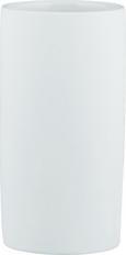 Zahnputzbecher Melanie in Weiß aus Keramik - Weiß, KONVENTIONELL, Keramik (6,5/12cm) - Mömax modern living