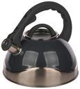 Čajnik Schicky - siva/srebrna, kovina/umetna masa (2,8l)