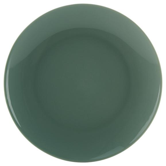 Dessertteller Sandy Mint - Mintgrün, KONVENTIONELL, Keramik (20,4/1,8cm) - Mömax modern living