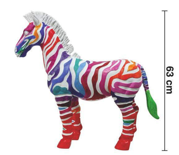 Dekopferd Freese ca. 63 cm - Multicolor, LIFESTYLE, Kunststoff (68/20/63cm) - Premium Living