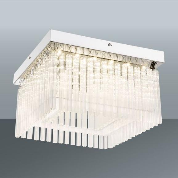 LED-Deckenleuchte Azra, max. 22 Watt - MODERN, Glas/Kunststoff (36/36/21,5cm) - MÖMAX modern living