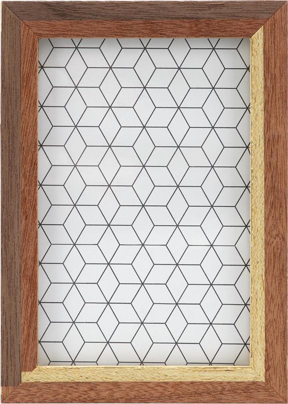 Okvir Za Slike Woody - rjava, steklo/les (12/17/3cm) - Mömax modern living