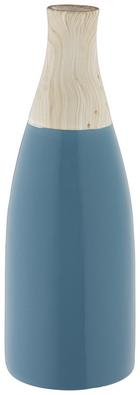 Dekorativna Vaza Dotty - modra, keramika (10/29cm) - Mömax modern living