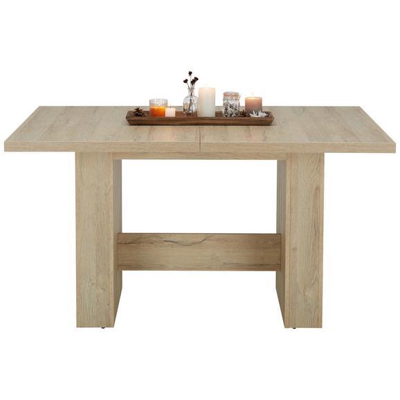 Kihúzható Asztal Magnus - Tölgyfa, modern, Faalapú anyag (140-300/75,5/90cm) - Modern Living