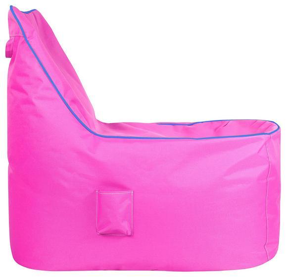 Vreča Za Sedenje Cortona - roza/modra, Moderno, tekstil (100/90/70cm) - Mömax modern living