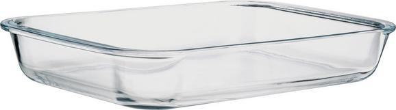 Pekač Greta - prozorna, steklo (38,5/6/24cm) - Mömax modern living