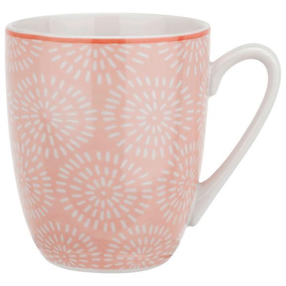 Cană Pentru Cafea Nina - roz, ceramică (8,5/10cm) - Modern Living