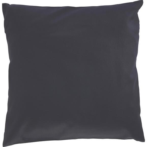 Zierkissen Zippmex in Schwarz ca. 50x50cm - Schwarz, Textil (50/50cm) - Based