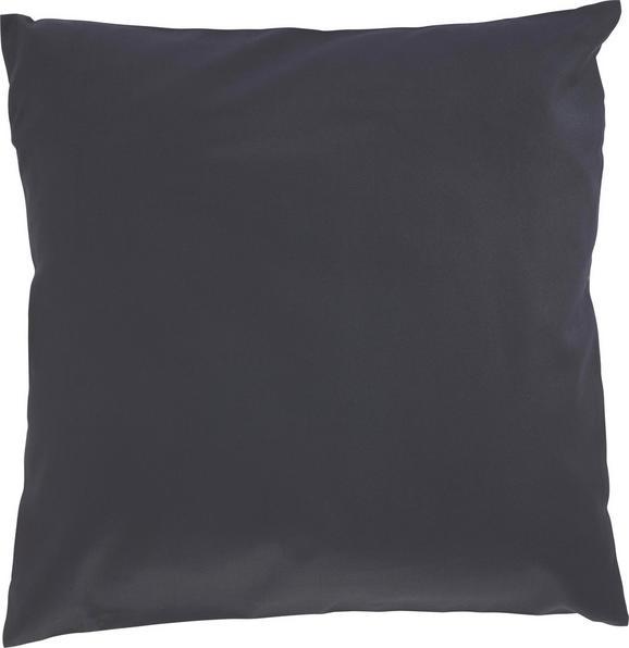 Zierkissen Zippmex Schwarz ca. 50x50cm - Schwarz, Textil (50/50cm) - Based