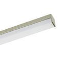 LED-Deckenleuchte Simon, 800 Lumen - Nickelfarben, KONVENTIONELL, Metall (101/81/12cm)