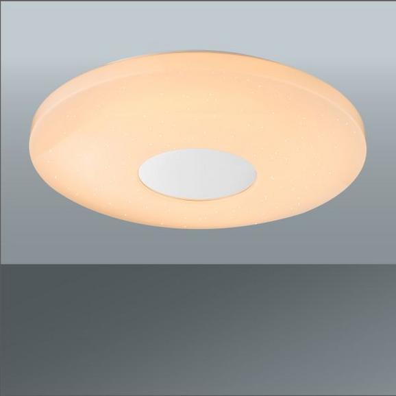 LED-Deckenleuchte Betty in Weiß, max. 30 Watt - Weiß, MODERN, Kunststoff/Metall (44/7/cm) - Mömax modern living