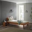 Nachtkästchen aus Eiche massiv - Eichefarben, Natur, Holz (35/33/35cm) - Modern Living