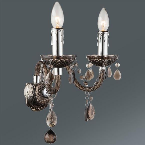 Stenska Svetilka Isabella - Romantika, kovina/umetna masa (36/33cm) - Mömax modern living