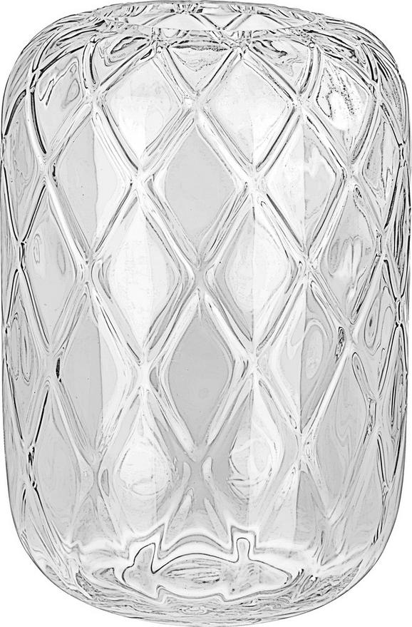 Vase Anett aus Glas - Klar, ROMANTIK / LANDHAUS, Glas (24/34cm) - Mömax modern living