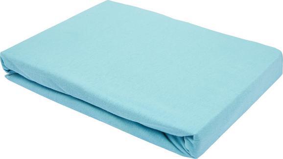 Spannleintuch Basic ca. 150x200cm - Mintgrün, Textil (150/200cm) - Mömax modern living