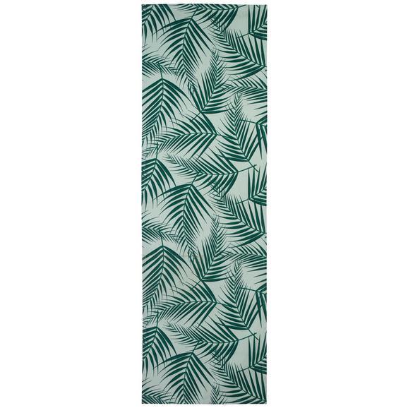 Nadprt Lenara - zelena, tekstil (45/150cm) - Mömax modern living