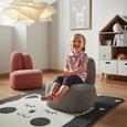 Fotoliu Copii Sunny - gri, Konventionell, textil (41/47/48cm)