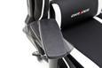 Pisarniški Stol Dx Racer1 - črna/bela, kovina/umetna masa (78/124-134/52cm) - Mömax modern living