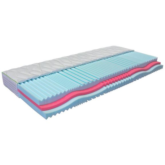 Vzmetnica 90x200 Cm Living Flexy Feel N - modra/rdeča, Moderno, tekstil (90/200cm) - Nadana