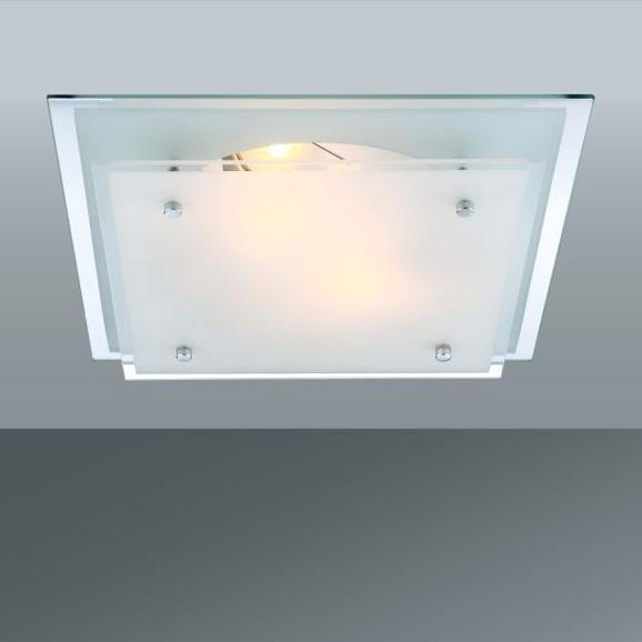 Stropna Svetilka Adam - Konvencionalno, kovina/steklo (33.5/33.5/7.5cm)