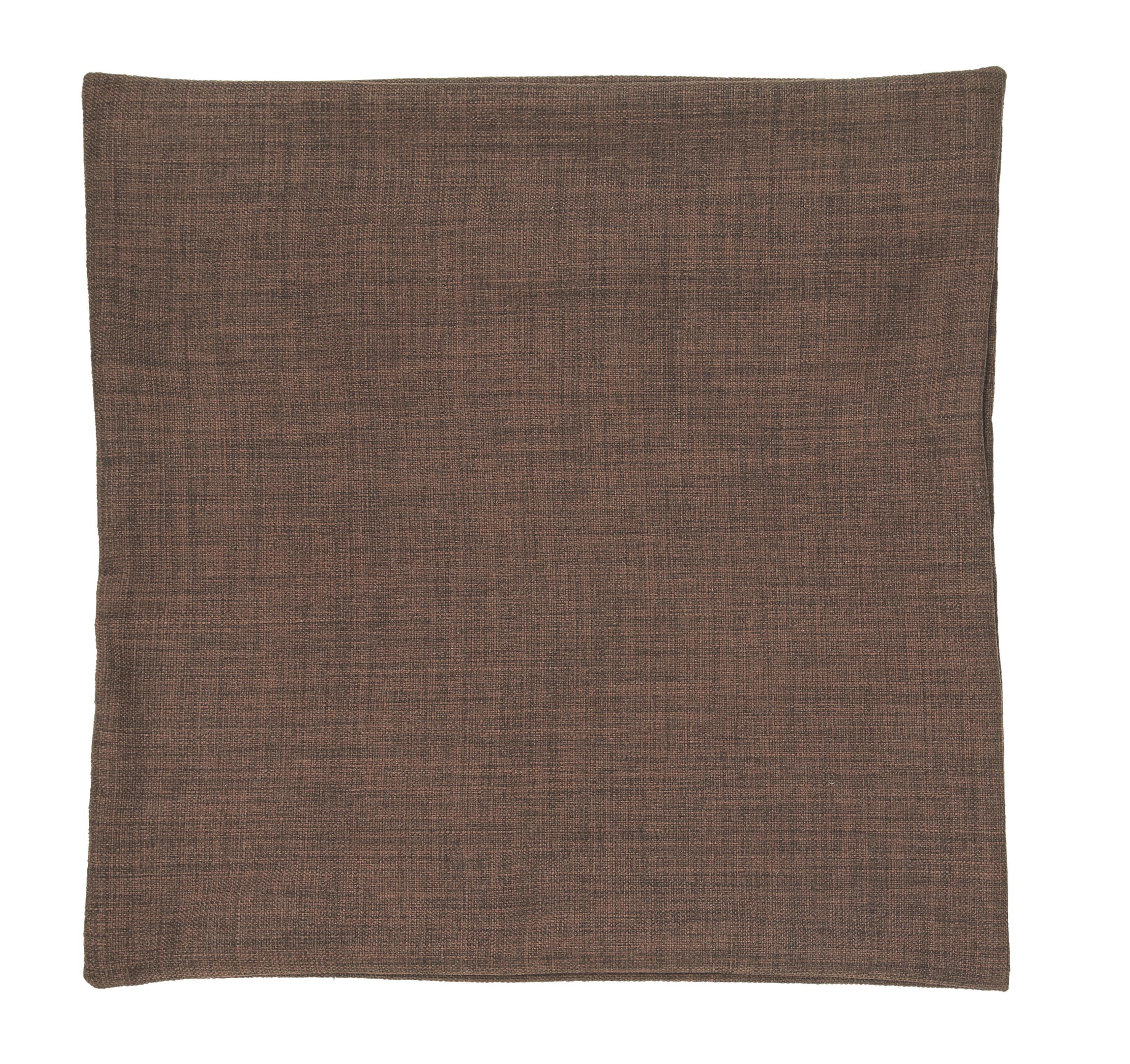 Párnahuzat Csokoládé Színű - sötétbarna, textil (50/50cm) - premium living