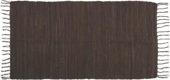 Fleckerlteppich Julia - Braun, KONVENTIONELL, Textil (70/130cm) - MÖMAX modern living