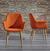 Stuhl Samantha - Orange, MODERN, Textil/Metall (59/82/65cm) - Mömax modern living