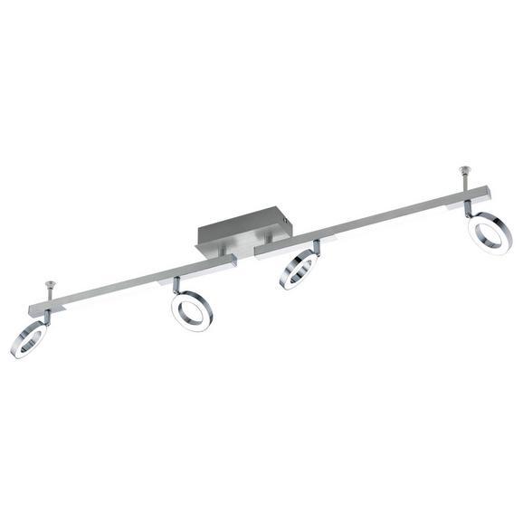 LED-Strahler Cardillio 1 max. 3,3 Watt - Chromfarben/Alufarben, MODERN, Kunststoff/Metall (8,5/98,5cm)