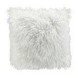 Fellkissen Mona 40x40 cm - Weiß, MODERN, Textil (40/40cm) - Mömax modern living