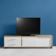 TV-möbel Lilja - Eichefarben/Weiß, MODERN, Holz/Metall (160/40/40cm) - Mömax modern living